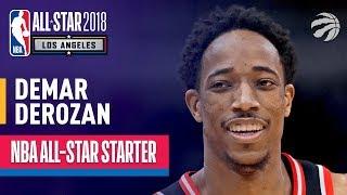 DeMar DeRozan 2018 All-Star Starter | Best Highlights 2017-2018