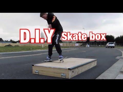 D.I.Y Skateboard Box