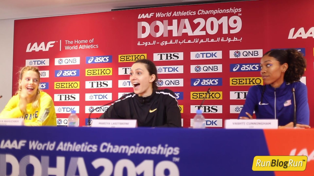 Doha WC 2019 - Women's High Jump Final Press Conference