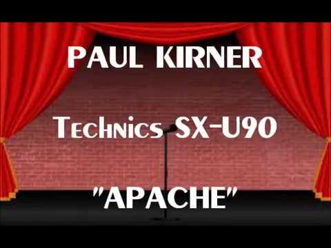 "PAUL KIRNER - ""APACHE"" (Jerry Lordan) - Technics SX-U90 - 1982"