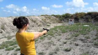 shooting clays with h p30 9mm