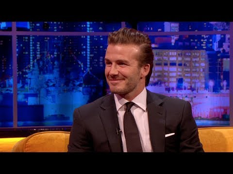 "David Beckham: ""It Was The Right Time To Retire"" - The Jonathan Ross Show"