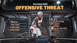 I CREATED THE BEST OFFENSIVE THREAT BUILD ON NBA 2K20! THIS BUILD CAN DO EVERYTHING!