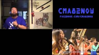Sarah, Angeline, Jona, Klarisse-Adele Medley-ASAP-REACTION