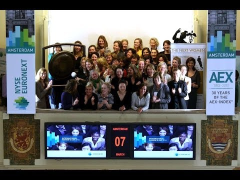 Euronext Amsterdam celebrates International Women