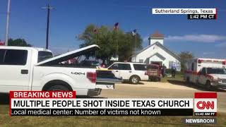 Multiple dead in Texas church shooting (CNN breaking news)