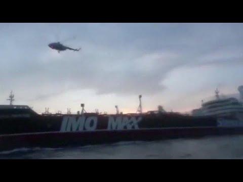 Лондон готовит ответ Тегерану на задержание танкера под британским флагом…