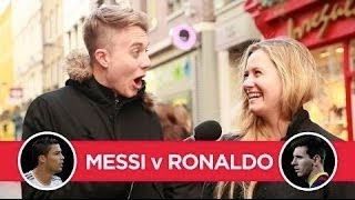 MESSI v RONALDO (decided by girls) thumbnail
