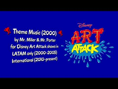 Art Attack LATAM (later Int'l) Theme Music (2000)