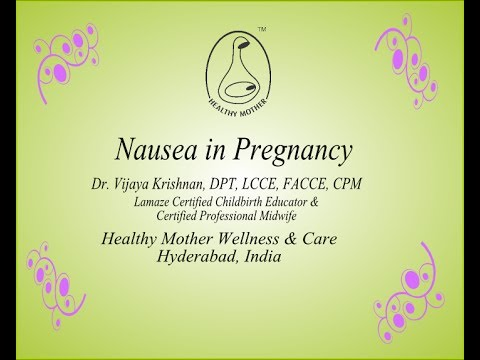 How to avoid Nausea in Pregnancy - Healthy Mother