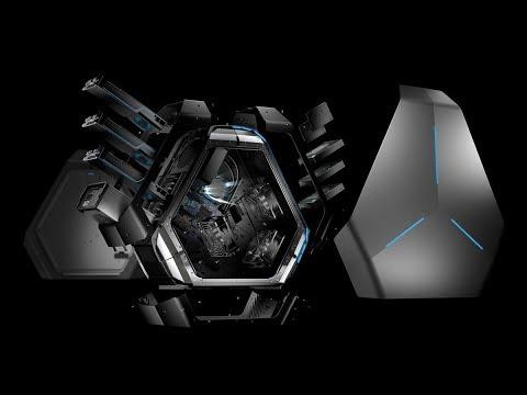 Chiếc Máy Tính Bí Mật Người Ngoài Hành Tinh Dell Alienware Area 51 R2 Gaming Desktop PC
