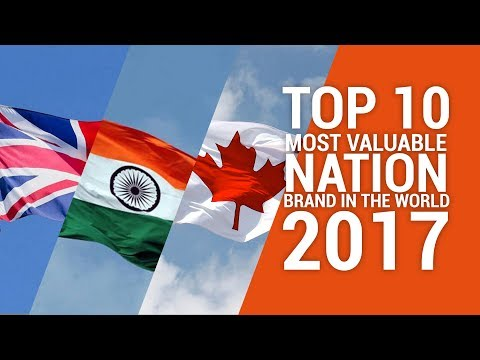 Top 10 Most Valuable Nation Brand 2017