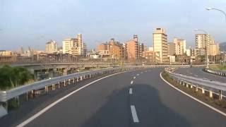 【前面展望】北九州都市高速 門司I.C.ー若戸大橋