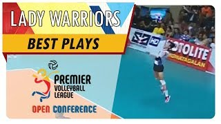PVL OC 2018: Jeanette Panaga nails WILD service ace to win crucial set for Pocari | POC | Best Plays