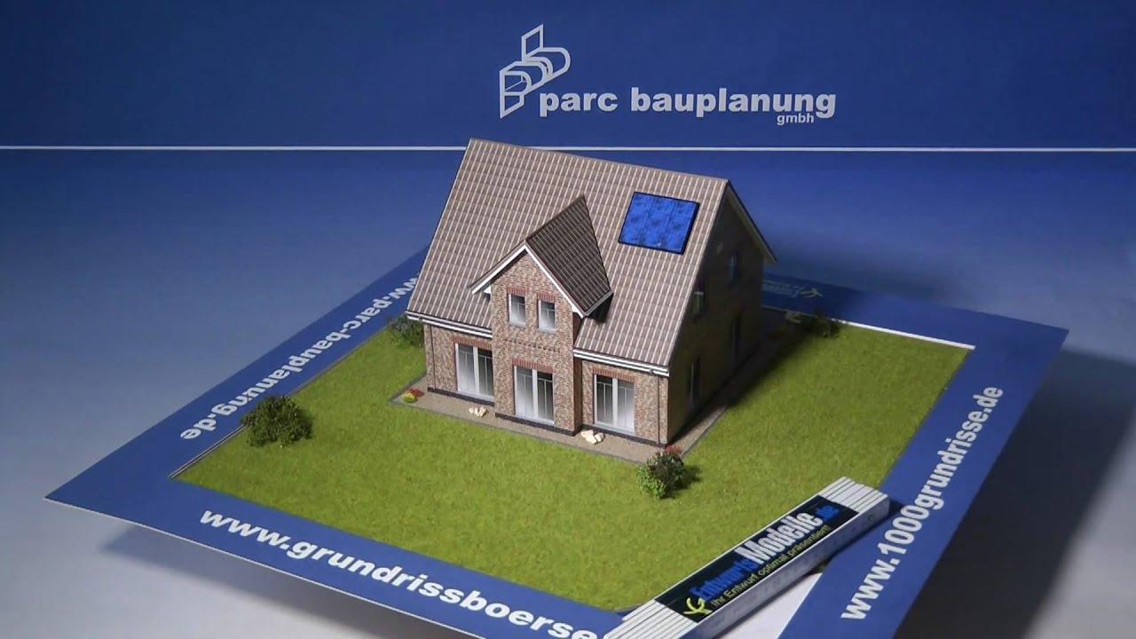 Modernes Dreigiebelhaus Musterhaus Bremen Borgfeld Parc