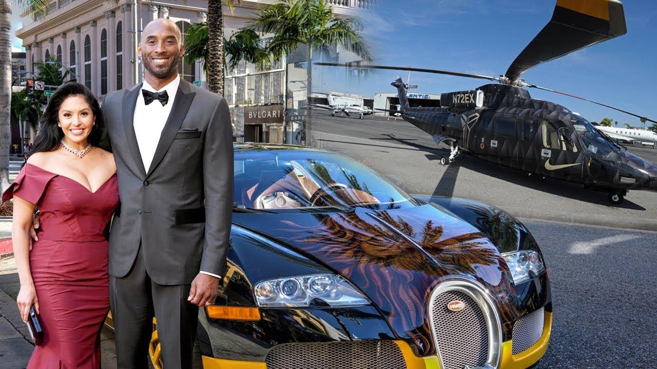 Kobe Bryant S Net Worth Luxury Car Luxury House Wife Kids