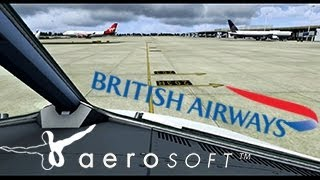 FSX ✈British Airways A320 Full Flight Manchester - East Midlands {TimeLapsed}