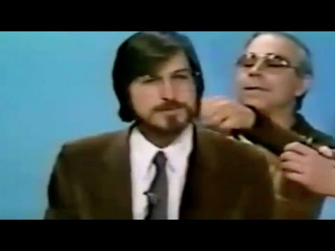 Steve Jobs' first TV interview