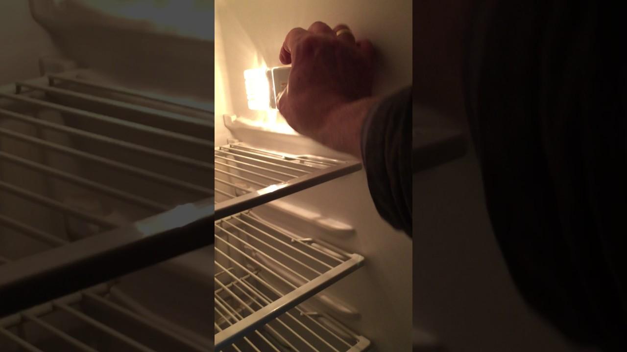 Kühlschrank Licht : Warnung sehr hoher stromverbrauch durch kühlschranklicht youtube