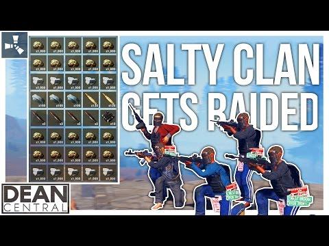 Legacy Cave Raid: SALTY Clan Gets ROCKET RAIDED | Rust | Episode 18