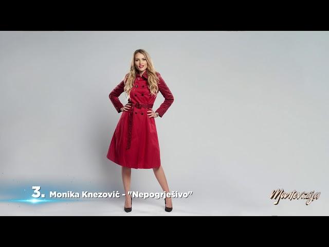 RTCG MONTEVIZIJA 2019 Monika Knezović - Nepogrješivo