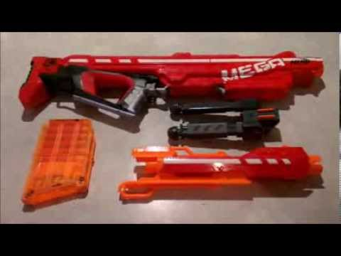 Nerf Centurion Review – Nerf Centurion Mod – Nerf Mega