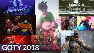 Game of the Year 2018 (the best year for video games?)