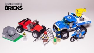 Lego City 60172 Dirt Road Pursuit Speed Build