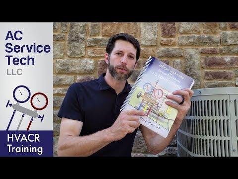 HVAC Training Book, Refrigerant Charging & Service Procedures Ebook & Paperback!