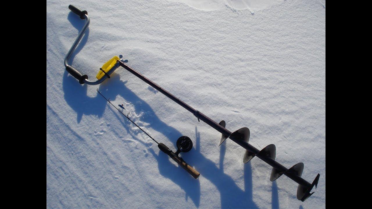 Бур для зимней рыбалки торнадо