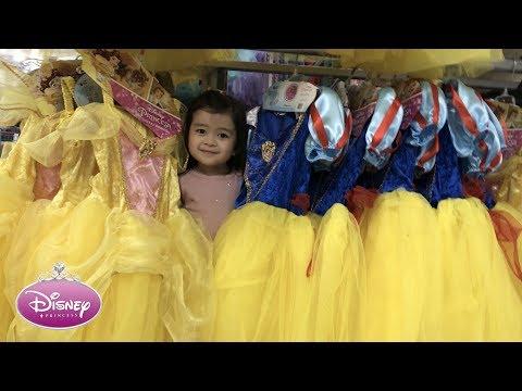 Shopping for Disney Princess Dresses | Baby Playful