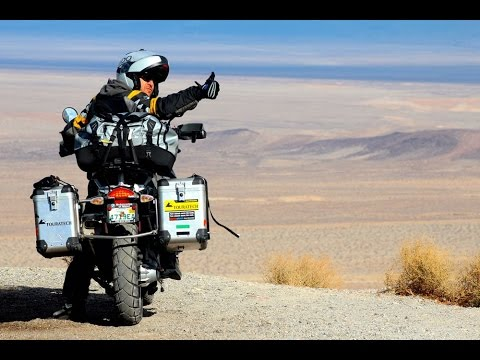 BMW GS 1200 Adventure offroad Mexico and United States (Drone DJI)