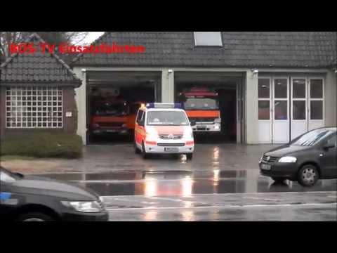 Feuerwehr Hamburg Alsterdorf Löschzug Kurz KLF,HLF,TMF