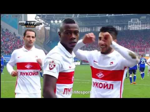 Динамо М 2:3 Спартак М  Российская Премьер Лига 2015/16  13-й тур.  Обзор матча