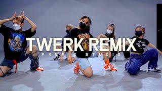 CITY GIRLS x CARDI B - TWERK (C MINOR REMIX) | SHUKKIE choreography
