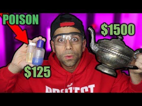 I got POISON in my DARK WEB MYSTERY BOX   $1500 DARK WEB MYSTERY BOX VS $125 BOX UNBOXING!