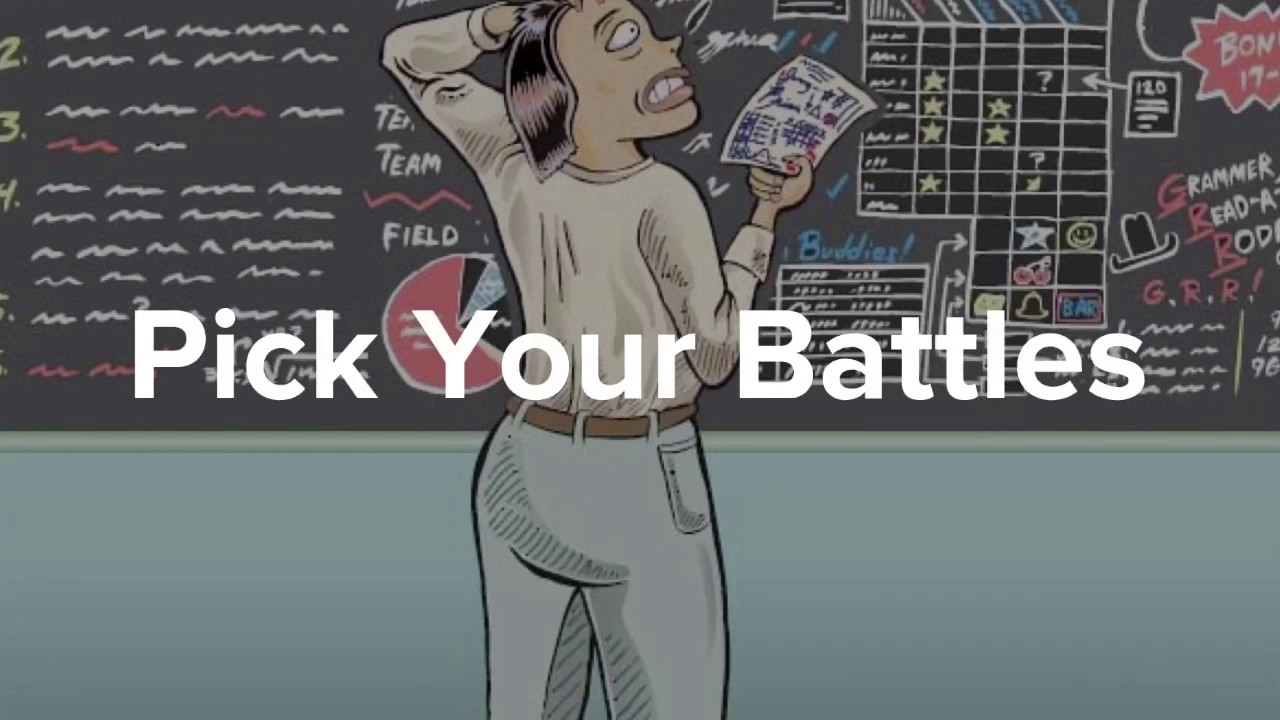 www.jesuschristislordmdc.net, - CHOOSE YOUR BATTLES WISELY ...   Chart Pick Your Battles