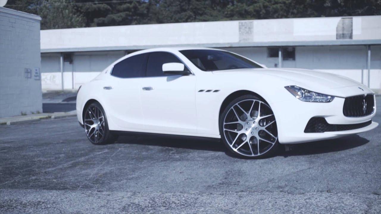Rovos Wheels Maserati Ghibli On Black Pretorias Youtube