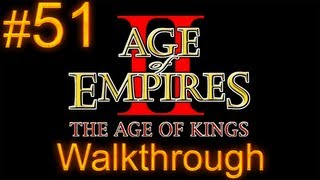 Age of Empires 2 Walkthrough - Part 51 - Barbarossa Campaign - The Emperor Sleeping [1/3]