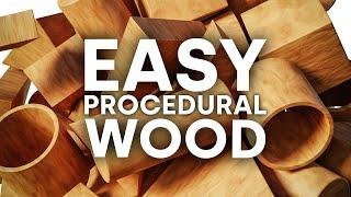 Blender Just Made Creating Wood So Easy in Blender 2.9!!!