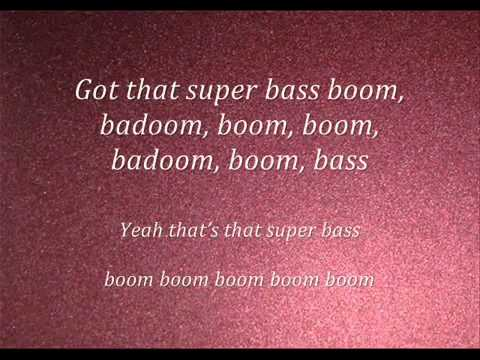 Nicki Minaj-Super Bass(lyrics) 2011(NEW)