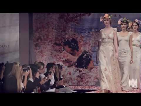 Claire Pettibone Runway fashion film Fall/Winter 2013 NYC