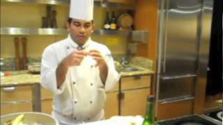 Thai Crab Salad Rolls - Sake Poached Scallops With Ginger - Bananas Foster