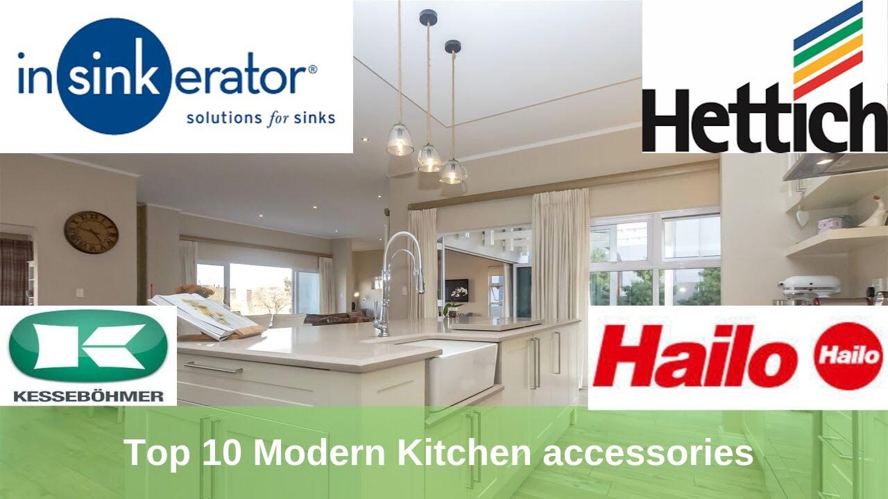 Top 10 Modern Kitchen accessories