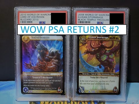 WoW TCG PSA Graded Returns #2