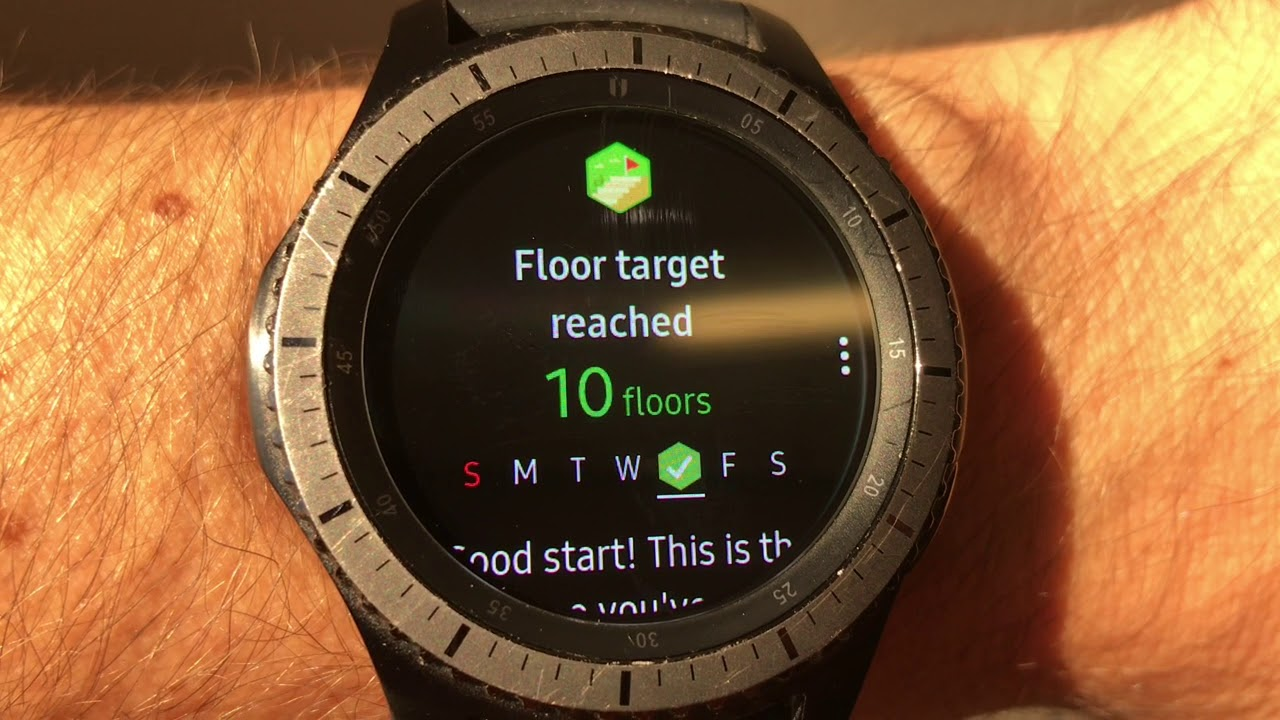 Samsung Gear S3 - Notifications