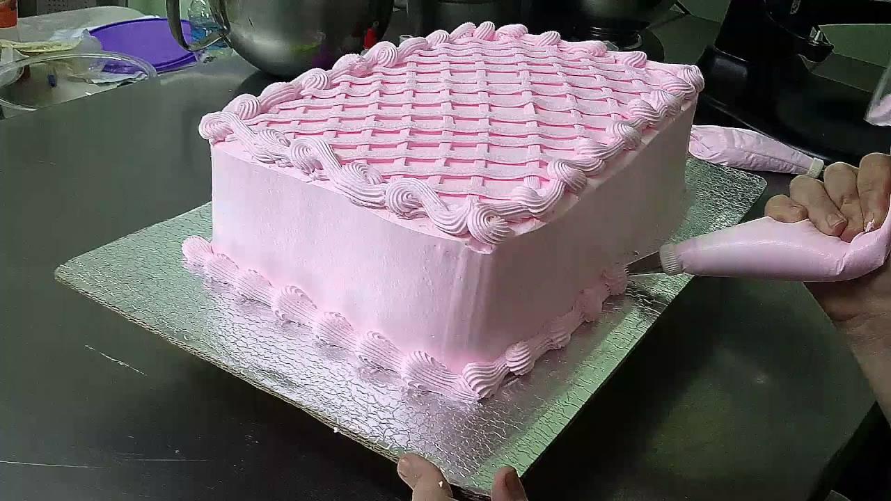 Decoracion De Pastel Para Aniv Ersario De Boda 1ra Parte: Cmo Hacer Rosetones Con Merengue Torta De Aniversario T