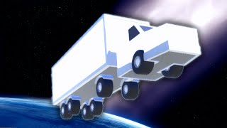 TRUCK DRIVING IN THE FUTURE!? #3 (Clustertruck)