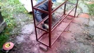 видео стеллажи металлические сборные