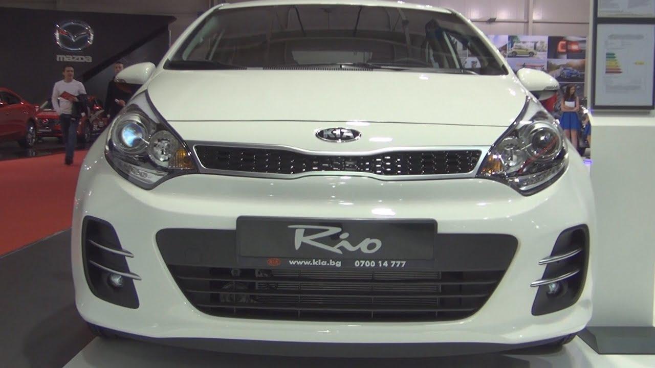 KIA RIO 3 2016 (Киа Рио) - Бюджетное авто с претензией - YouTube